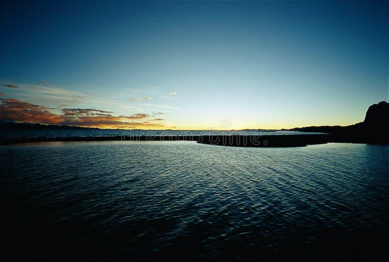 Download Wonderful Nam-co sunset stock image. Image of lake, view - 4227739