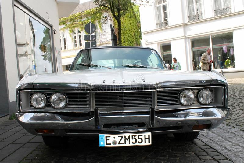 Dodge oldtimer car in Kettwig. stock image