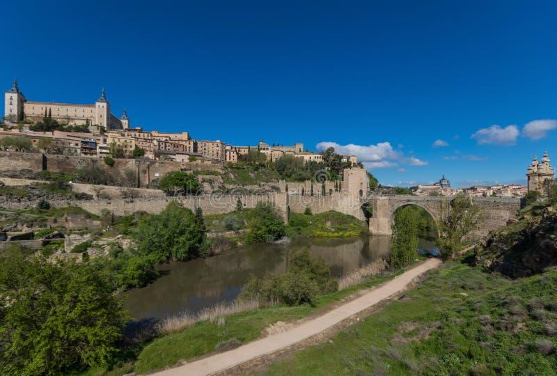 The wonderful Old Town Toledo, Spain stock photos
