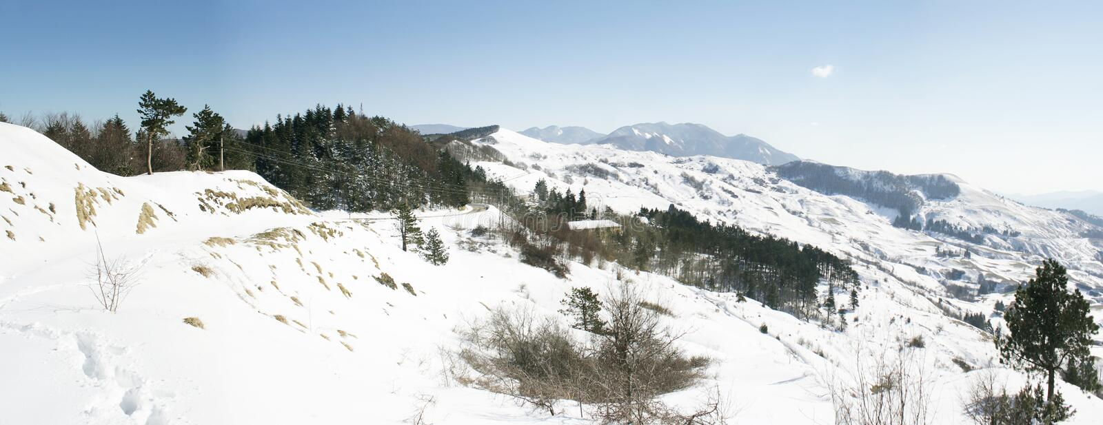 Download Wonderful Scenic View Of A Mountain Range Stock Photo - Image: 29438932