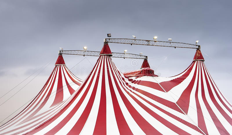 The Wonderful Spectacle Of The Circus Stock Photography
