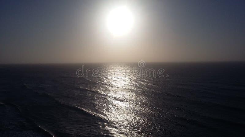 Wonderful sun on beach. Landscape, relax royalty free stock photos