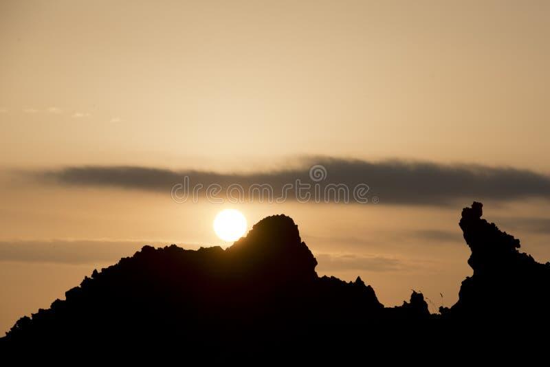 Wonderful Sunset On ETNA Volcano Royalty Free Stock Photography