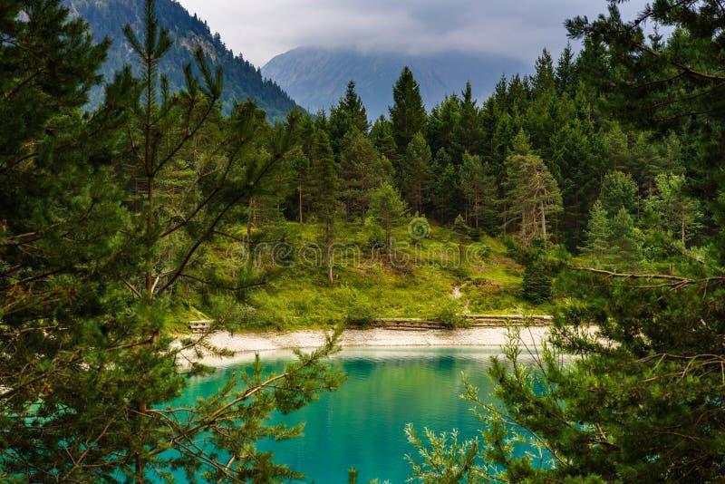 Urisee near Reutte, Tirol, Austria royalty free stock image