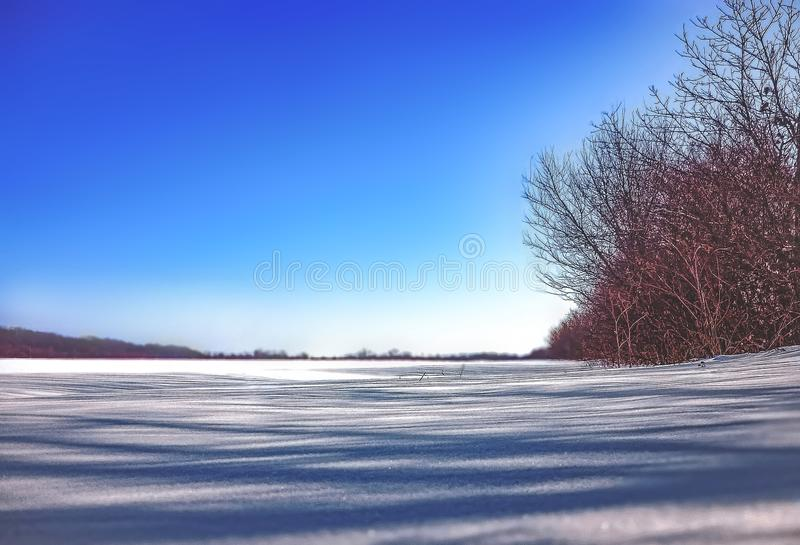 A wonderful winter day royalty free stock image