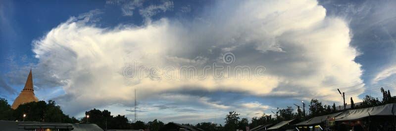 wonderfull chmura zdjęcia stock