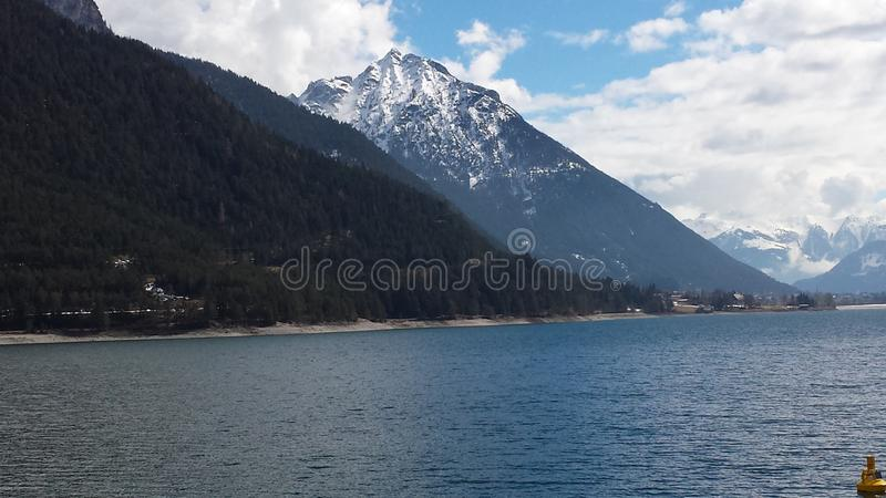 Lake Achen royalty free stock photography