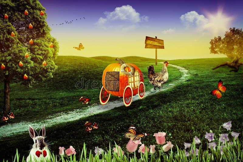 Wonderland. Royalty Free Stock Photography
