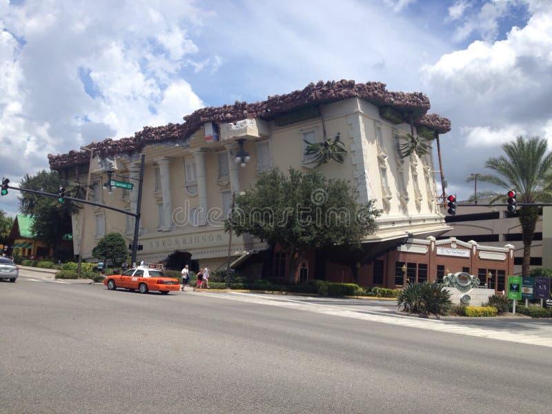 Wonderworks, International Drive, Florida stock image