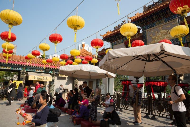 Wong Tai Sin Temple dans Kowloon, Hong Kong photographie stock