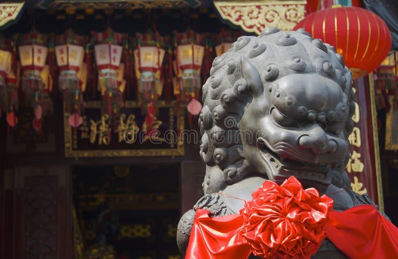Wong Tai Sin Temple i Hong Kong arkivbild