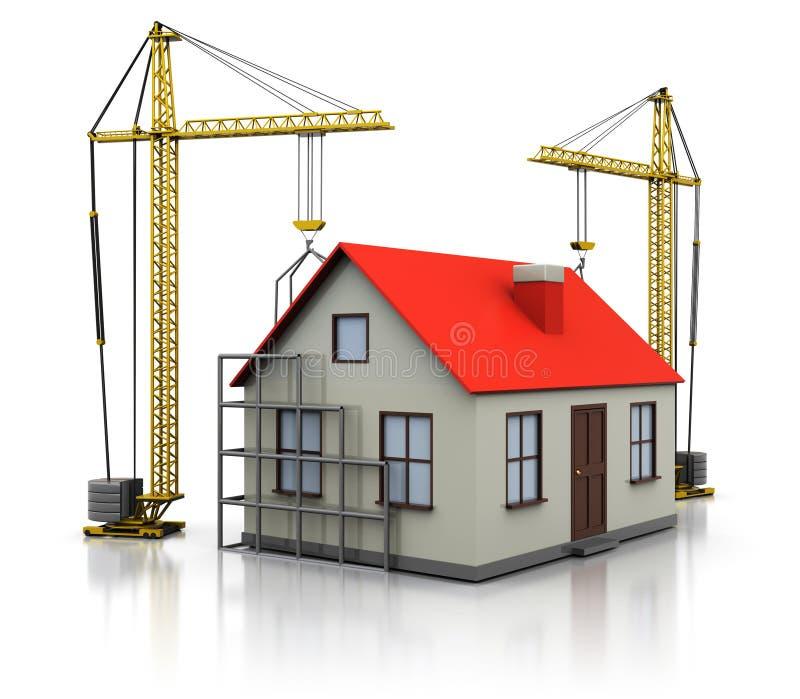 Woningbouw vector illustratie