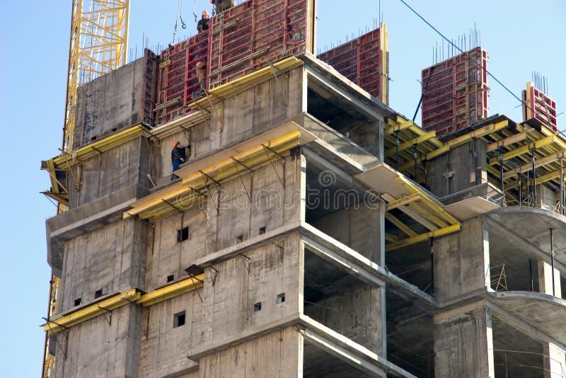 Woningbouw royalty-vrije stock afbeeldingen