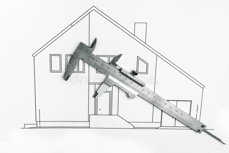 Woningbouw stock afbeeldingen