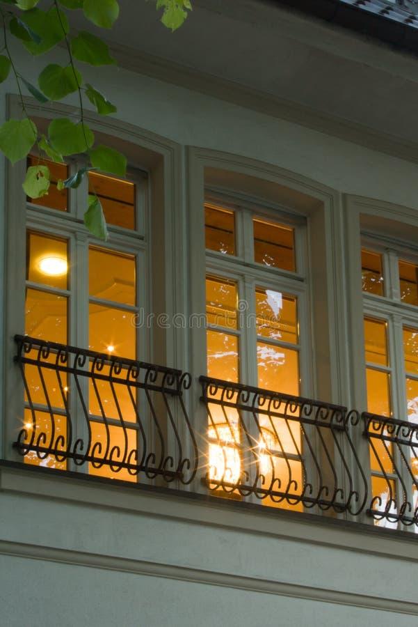 Woningbouw in dormagen royalty-vrije stock foto's