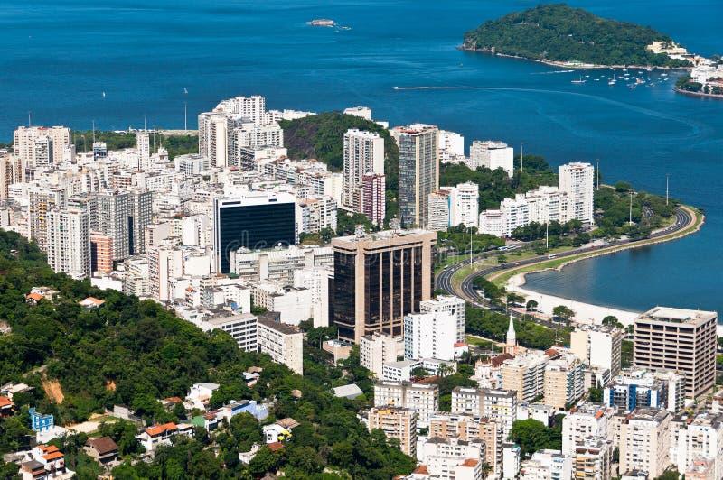Woningbouw in Rio de Janeiro royalty-vrije stock afbeelding