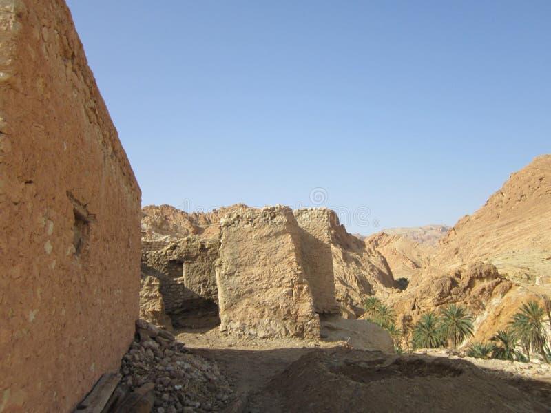 Woningen van berbers royalty-vrije stock afbeeldingen