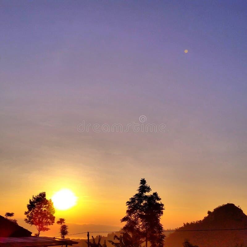 Good morning. Wonosobo indonesia good morning royalty free stock images