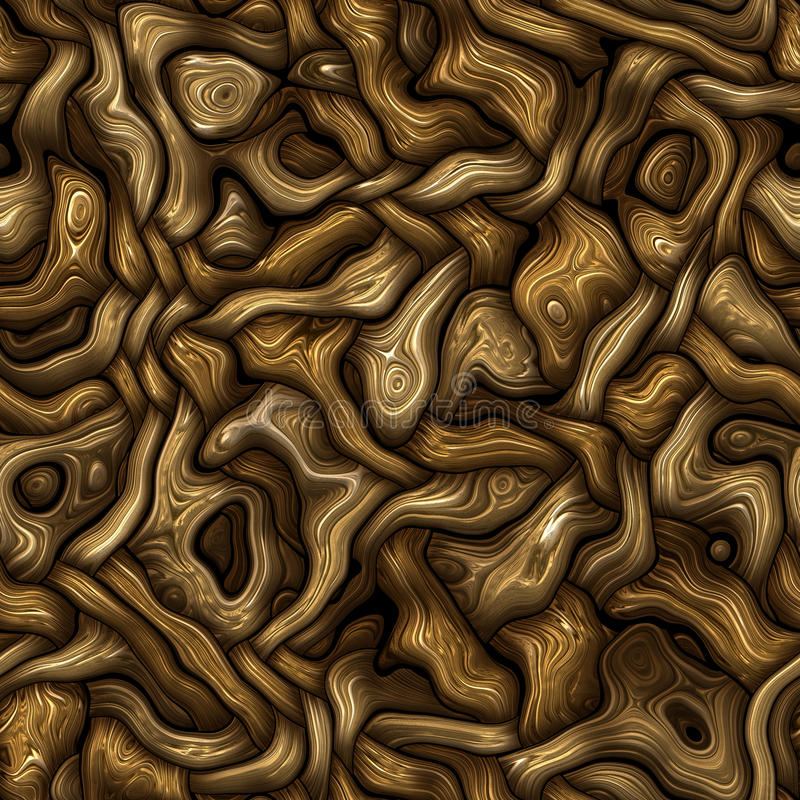 Wood. An illustration of an abstract seamless wood background vector illustration