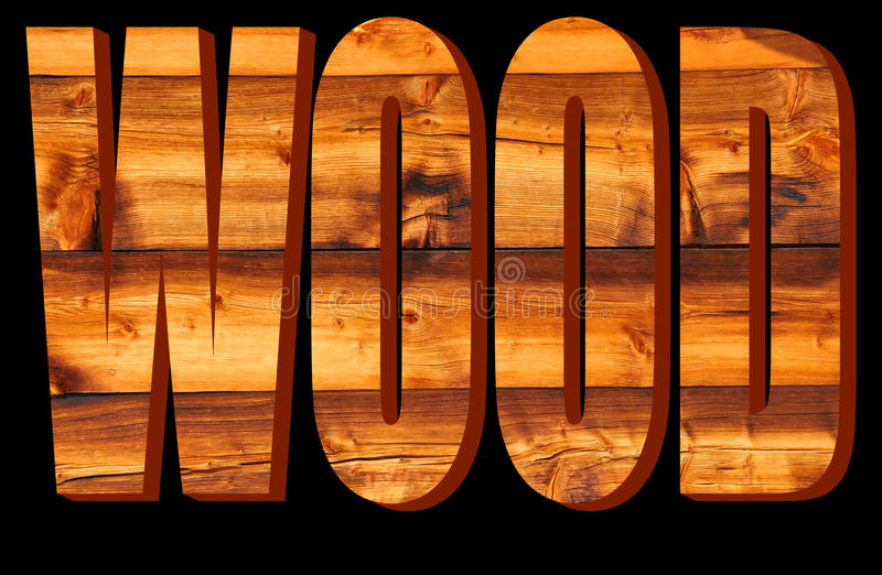 Download Wood in 3D stock illustration. Image of relief, background - 15592887