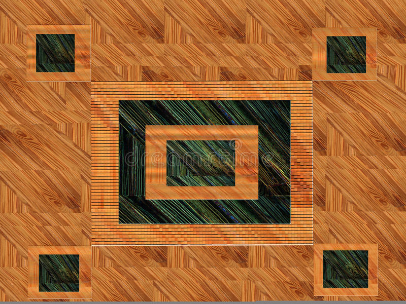 Download Wood Abstract Design stock illustration. Image of textures - 14255617