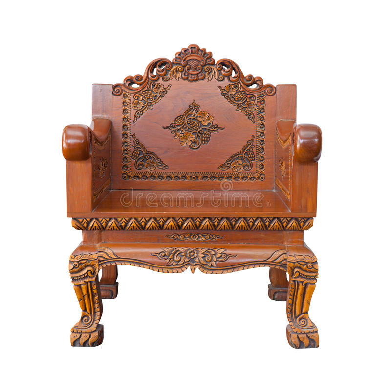 Download Wood Armchair Royalty Free Stock Images - Image: 25879299
