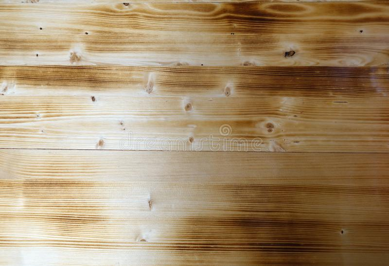 Wood background. Aged burnt wood texture stock photography