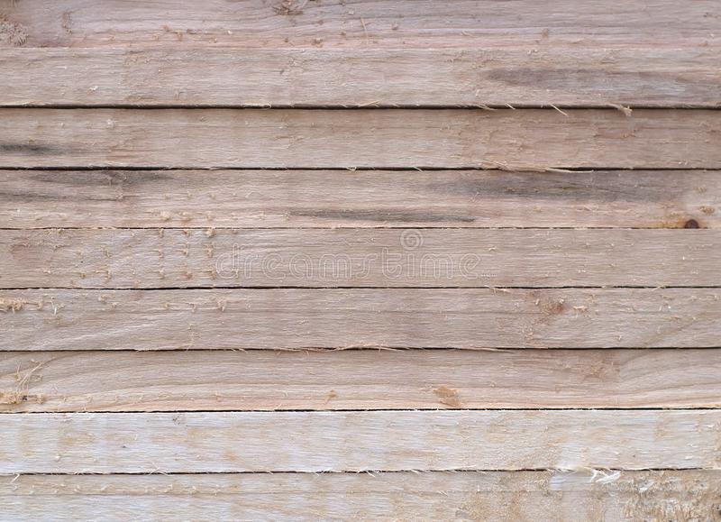 Natural wood plank horizontal rough texture background royalty free stock image