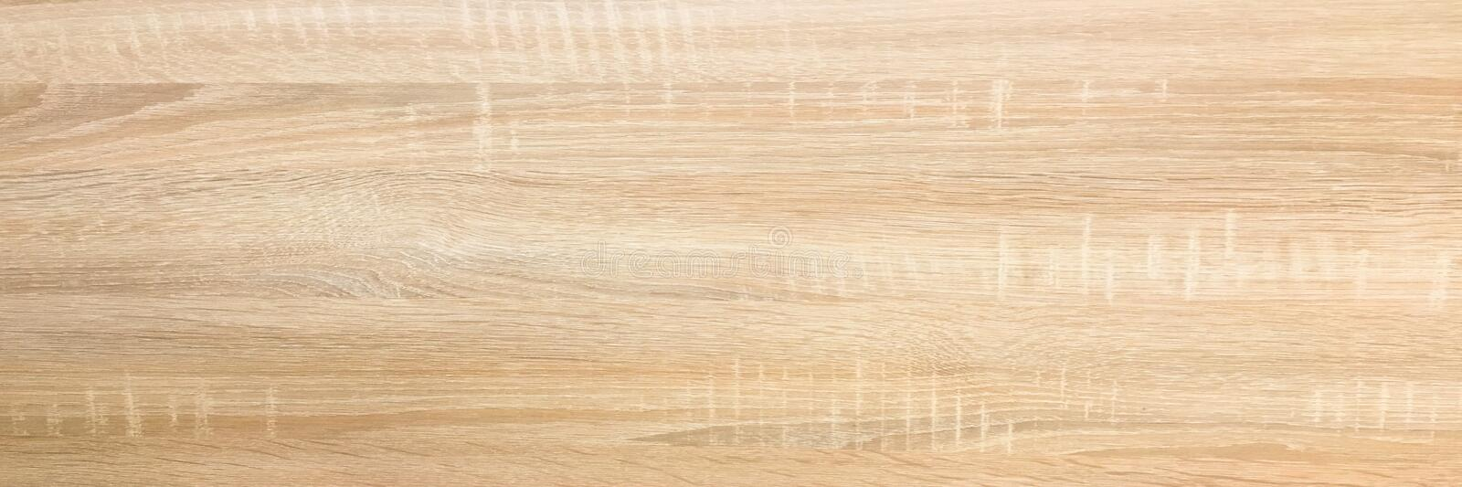 Wood background texture, light weathered rustic oak. faded wooden varnished paint showing woodgrain texture. hardwood washed plank royalty free stock photography
