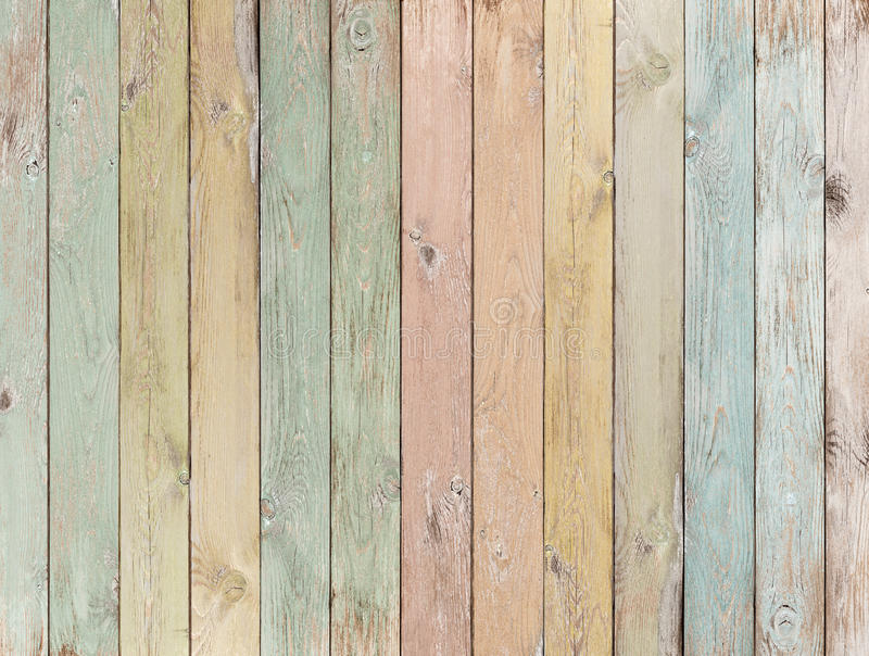 Wood background or texture with planks pastel colored royalty free stock images
