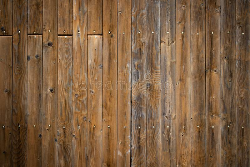 Wood background texture/wooden planks. With copy space.  stock photo