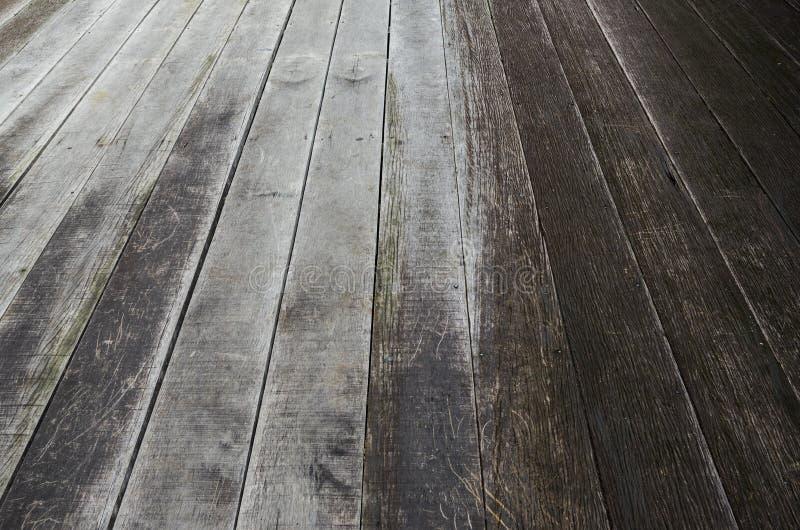 Wood bakgrund för texturplankakorn, träskrivbordtabell eller golv royaltyfria foton