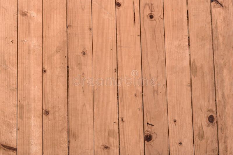 Wood bakgrund för texturplankakorn, träskrivbordtabell eller golv royaltyfria bilder