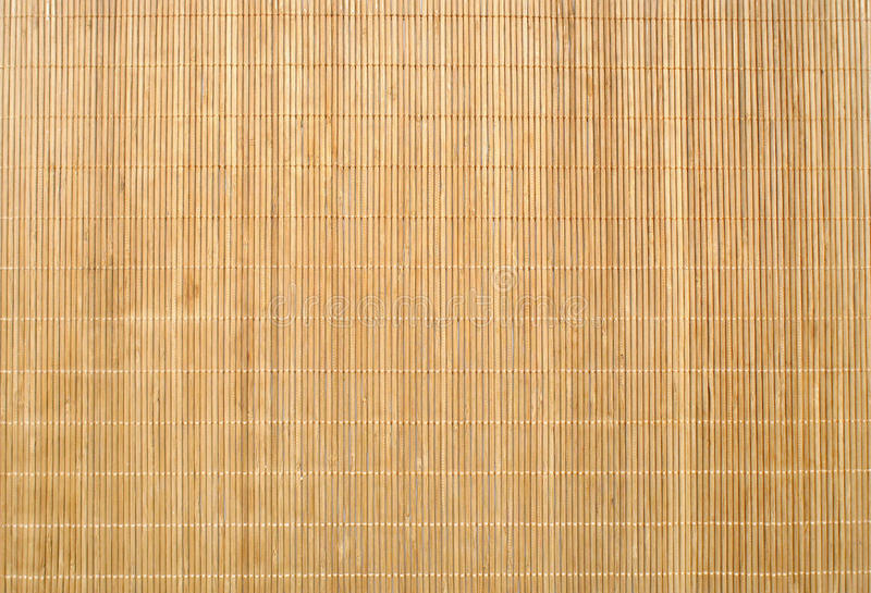 Wood Bamboo Mat Texture Background Stock Photo Image Of