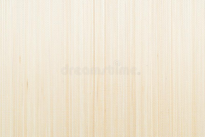 Wood bambu Mat Texture royaltyfria foton