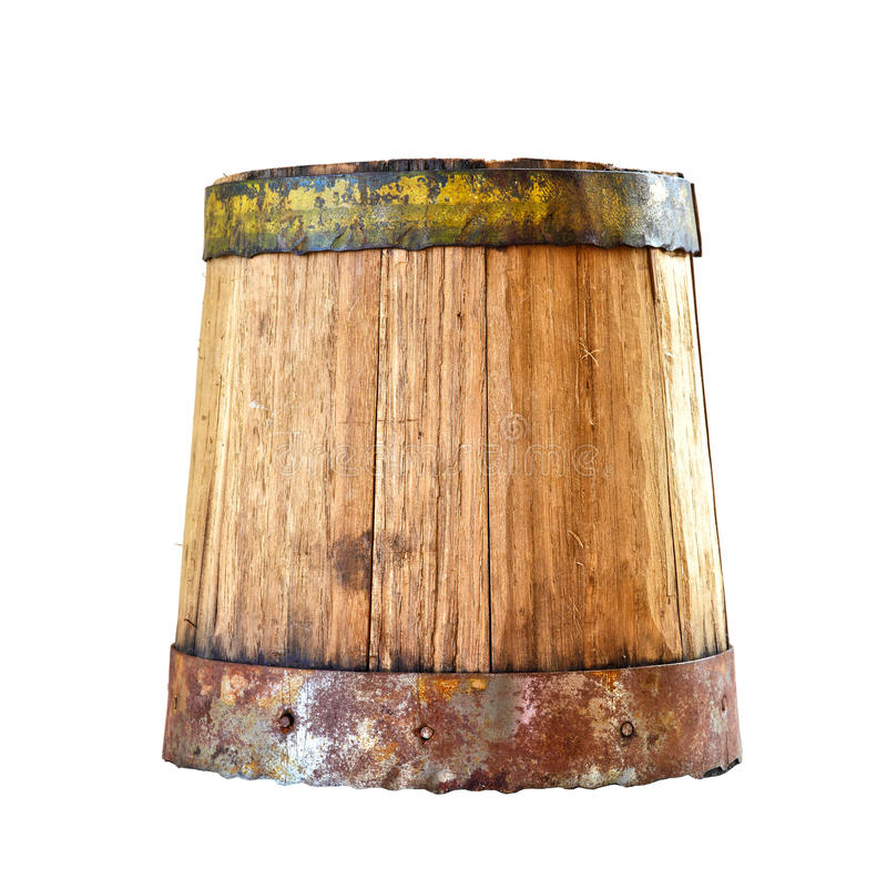 Download Wood barrel stock photo. Image of alcohol, isolated, storage - 28516098