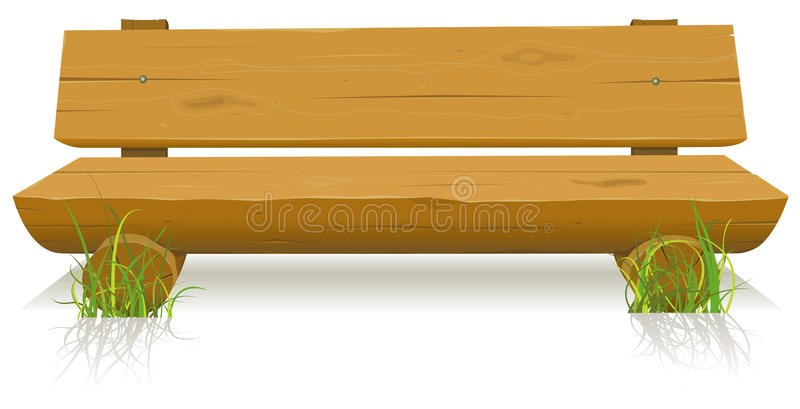 Wood Bench Stock Photography