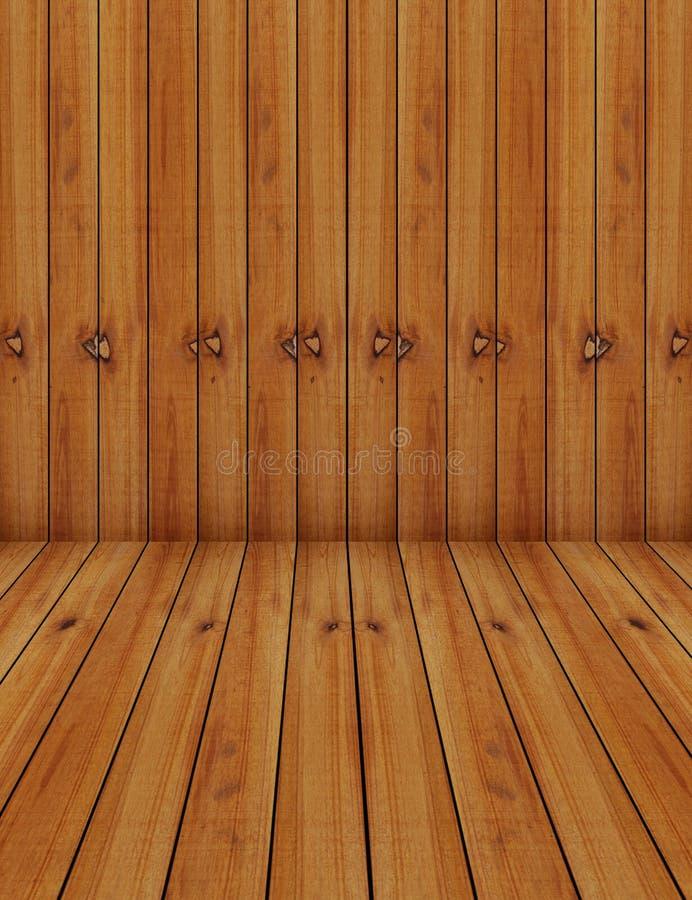 Wood Black Background stock illustration