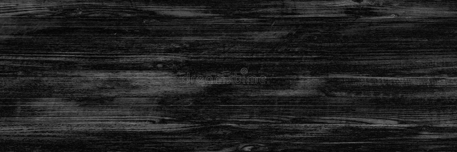 Black wood texture, dark wooden abstract background royalty free stock images