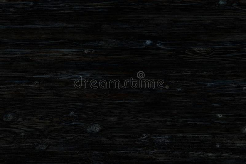 Wood black background, dark wooden abstract texture royalty free stock images