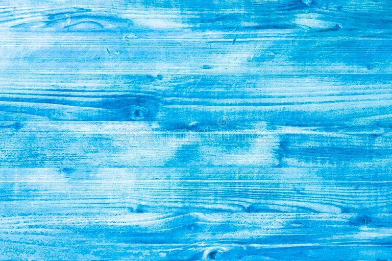 Wood blue background, washed wooden abstract texture royalty free stock photo