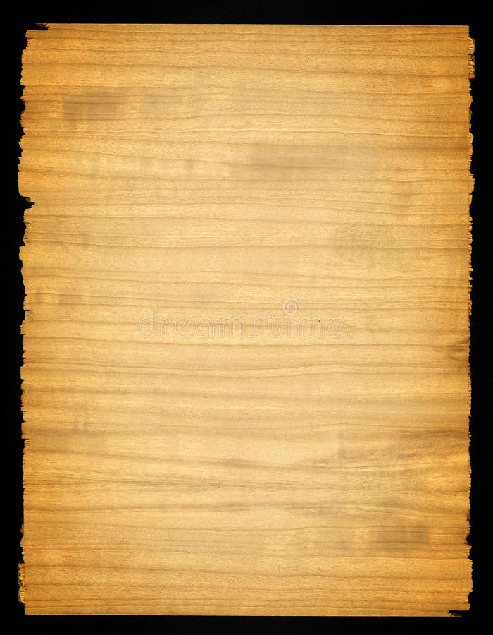 Wood board background. Fiddle buck hardwood board ready for your writing stock illustration