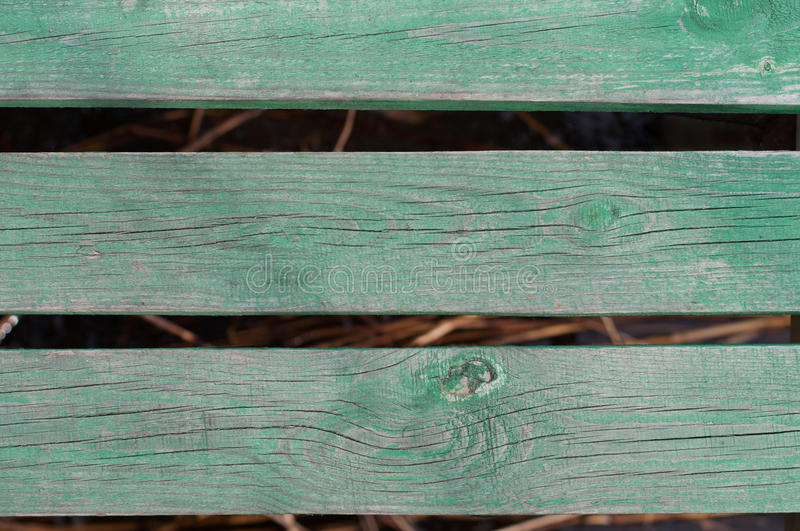 Wood board nature water concept - green wooden boards over water royalty free stock photos