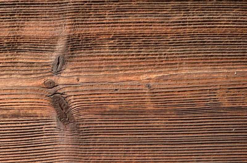 Wood board with well defined grain. Wood texture. royalty free stock photos