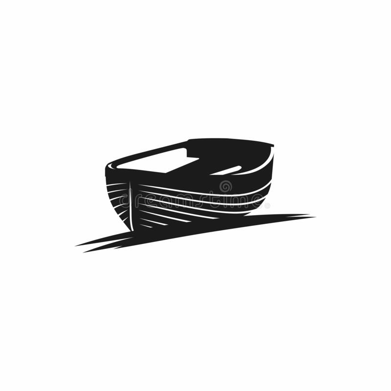 Free Wood Boat Design Vector Graphic Royalty Free Stock Images - 189549249