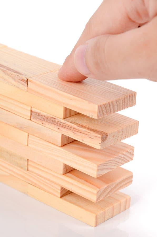 Download Wood bricks stock image. Image of game, white, wood, rectangle - 26599863