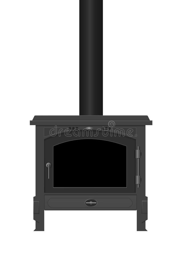 Download Wood Burning Stove. Royalty Free Stock Photo - Image: 22275705