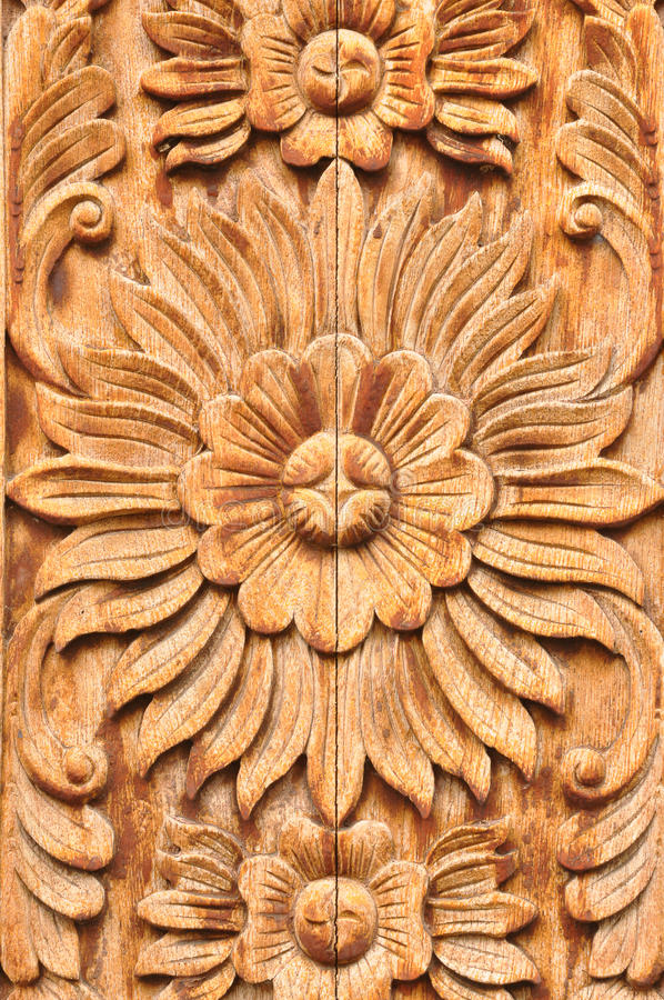 Wood Carving royalty free stock image