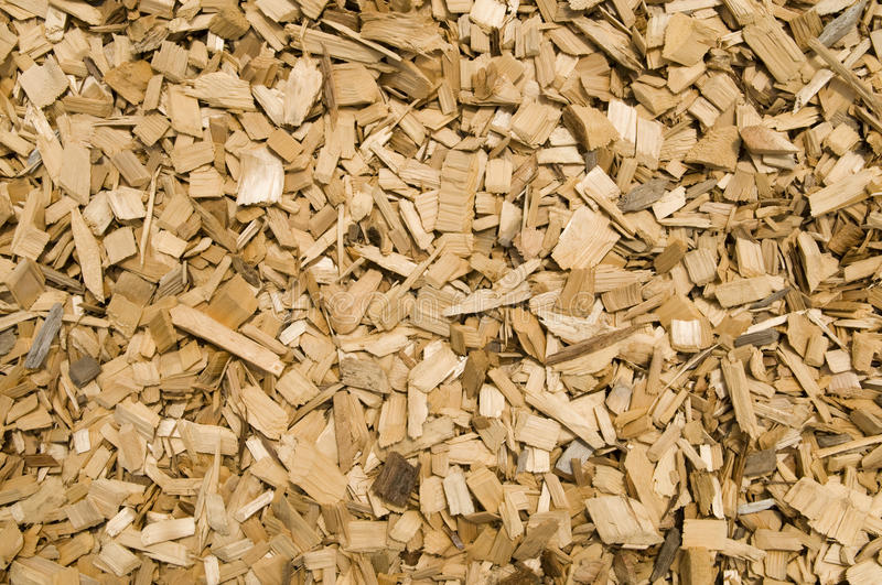 Wood Chips For Ground Cover ~ Wood chip background royalty free stock images image