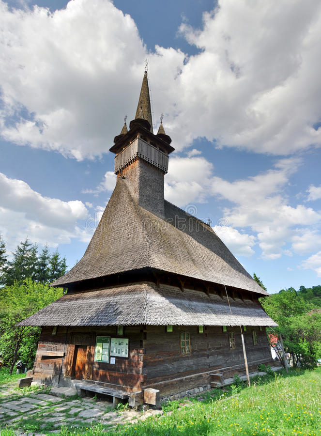 Free Wood Church, Maramures, Romania Stock Photography - 47639172